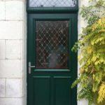 Pose de menuiserie extérieure porte d'entrée