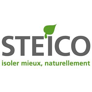 Logo Steico : Isoler Mieux, Naturellement.